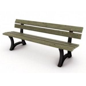 banc public pour parcs et jardins publics