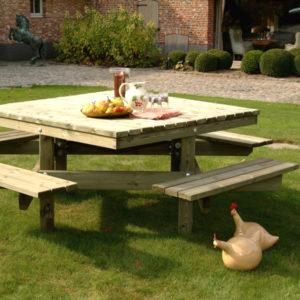 table pique-nique pour parcs et jardins, aires de repos...