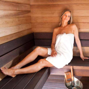 saunas tout en bois