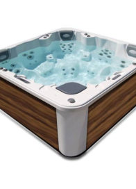 Spa Aqua 8 spacieux et équipement de haut niveau.