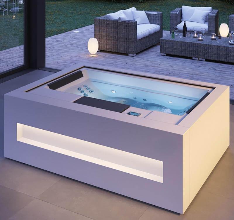 Choisir un emplacement, un modèle de spa, un habillage sur-mesure, le plaisir du spa