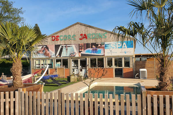 Notre magasin à Essars (près de Béthune, Pas-de-Calais)