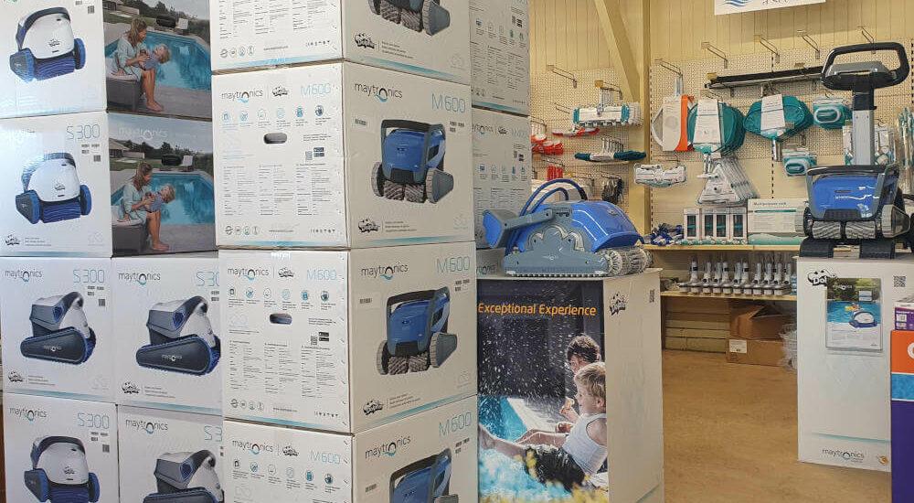 Robots de nettoyage, disponibles sur stock chez Décors Jardins