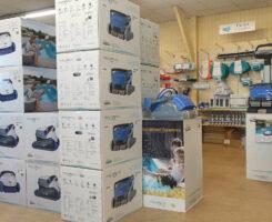 Votre robot de nettoyage vous attend dans le showroom
